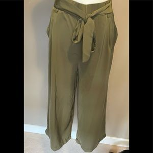 Another Story - Olive Green Culotte - Size M